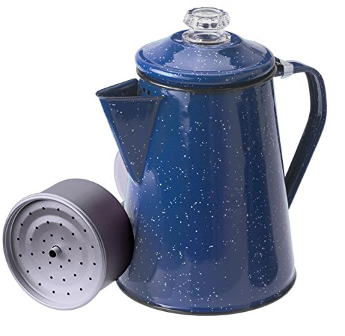 GSI Outdoors 15154 8 Cup Blue Enameled Steel Percolator (8 Cup Percolator compare prices)