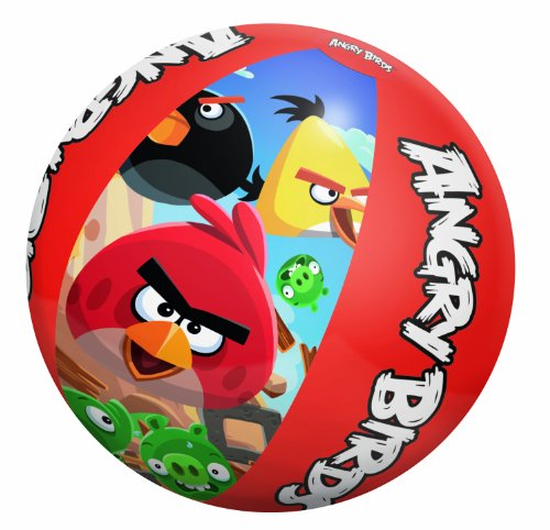 "Bestway Toys Domestic Angry Birds Beach Ball, 20"" - 1"