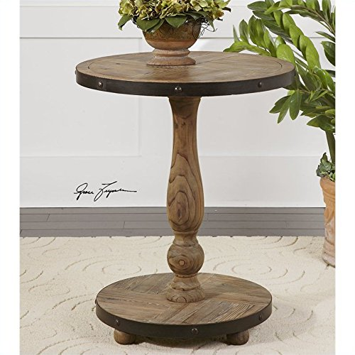 Uttermost, Kumberlin, Round Table, Accent Furniture - Like New