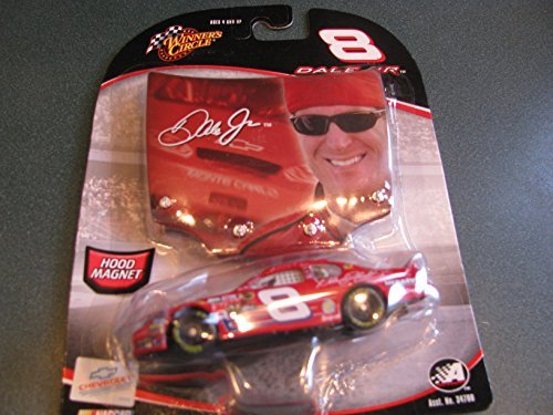 No Budweiser Logos Dale Earnhardt Jr #8 With DEI Dale Earnhardt Incorporated Logo Monte Carlo 1/64 Scale & Bonus Replica Photo Magnet Hood Winners Circle - 1