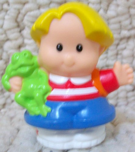 Buy Low Price Mattel Fisher Price Little People Eddie Farmer Replacement Figure Doll Toy (B002B3S1DM)