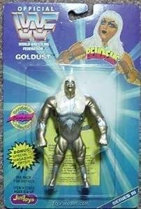 WWF / WWE Wrestling Superstars Bend-Ems Figure Series 3 Goldust