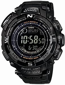 Casio Protrek Triple Sensor Solar Radio Clock Multiband 5 PRW-1500YJ-1JF Men's Watch Japan import