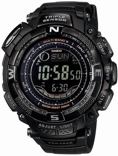 CASIO (カシオ) 腕時計 PROTREK プロトレック Triple Sensor ソーラー電波時計 MULTIBAND 5 マルチバンド 5 PRW-1500YJ-1JF メンズ