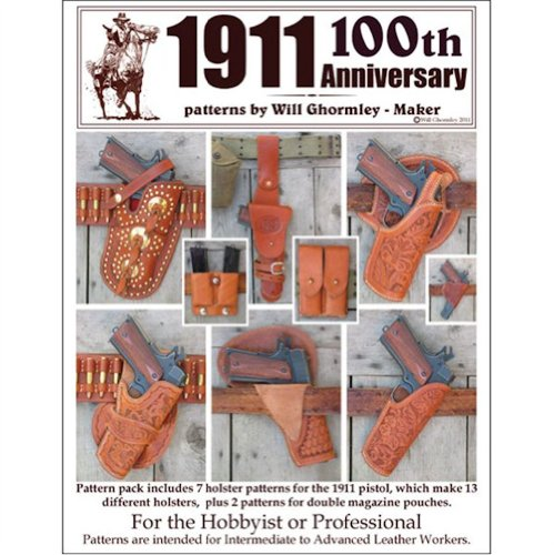 Tandy Leather Classic 1911 Patterns Pack 6015-20