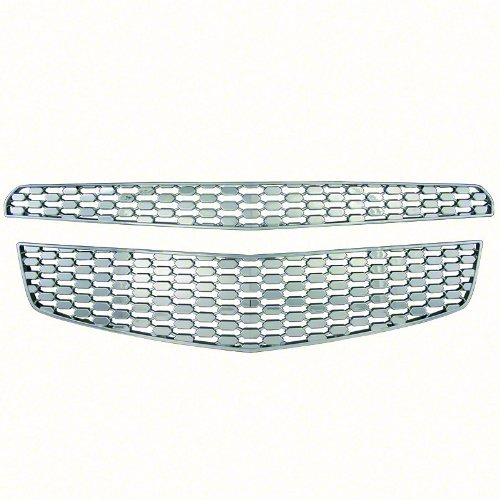 new-chrome-grille-cover-insert-overlay-fits-2012-2014-chevy-equinox-ls-lt-ltz-gi-82-by-iwc