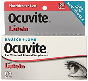 Bausch & Lomb Ocuvite Vitamin & Mineral Supplement Tablets