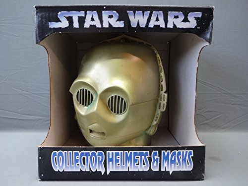 1996 Star Wars Don Post Mask Series Collector's Helmets & Masks C 3PO Mask