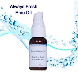 2 oz /  100% Pure Natural Emu Oil Refined
