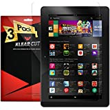 Klear Cut [3 Pack] - Screen Protector for Amazon Fire HD 6 - Lifetime Replacement Warranty - Anti-Bubble & Anti-Fingerprint High Definition (HD) Clear Premium PET Cover - Retail Packaging