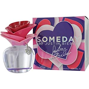 Justin Bieber Someday for Women Eau De Parfum Spray, 50ml/1.7 ounce