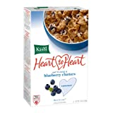 Kashi Heart to Heart Oat Flakes and Blueberry Clusters Cereal, 13.4-Ounce Boxes (Pack of 6) ~ Kashi