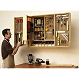 Shop-in-a-box tool cabinet: Downloadable Woodworking Plan