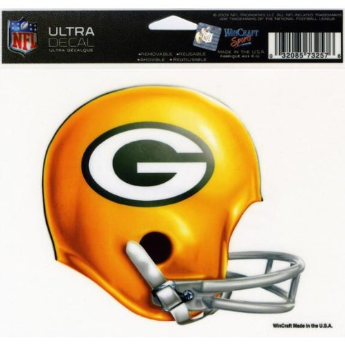 Green Bay Packers - Helmet Decal by Wincraft