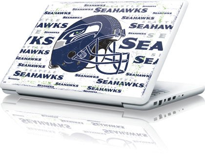 NFL | Seattle Seahawks - Blast White | Skinit Skin for Apple MacBook 13-inch at Amazon.com
