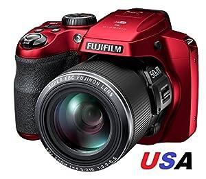 FUJIFILM FINEPIX S9950W 16.2MP Wi-Fi 50X OPTICAL ZOOM HD DIGITAL CAMERA S9900W RED