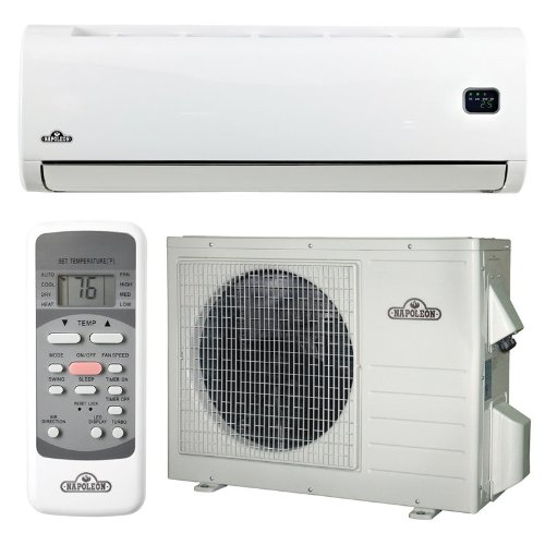 Napoleon NLIS18 White Ductless Mini-Split Ductless Air ...