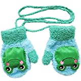 Viskey Unisex Baby Cartoon Coral Fleece Gloves