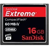 SanDisk Extreme CompactFlash 16 GB Memory Card 60MB/s SDCFX-016G-X46