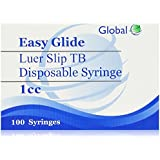1 ML TB slip-tip disposable syringe MVI 100/bx (without needle)