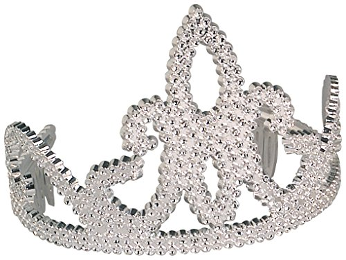 Rubies Child's Silver Princess Tiara Costume Accessory