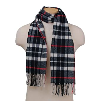 Elegant Fashion Scarf Soft Cozy Men's or Women's Winter Scarves in Plaid or Houndstooth Popular Patterns & Colors