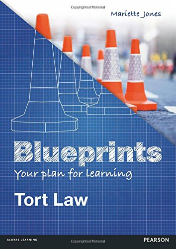 Tort Laws: Uk Edition (Blueprints)