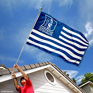 Buy Duke Blue Devils Alumni Nation Stripes Flag by College Flags and Banners Co.