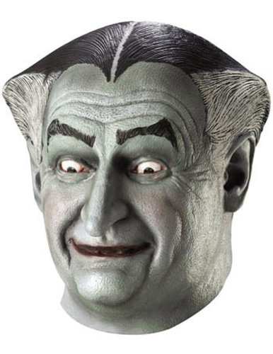 Munsters Grandpa Mask Halloween Costume - Most Adults