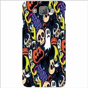 Design Worlds - Samsung Galaxy E7 Designer Back Cover Case - Multicolor Pho...