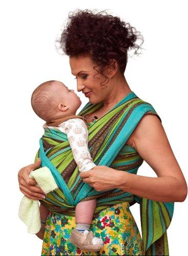 689a5bac6de Ellevill Wrap Baby Carrier - Zara Linen Green (tri-green)