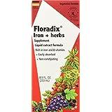 Salus Floradix Fer + Plantes Vigueur Et Energie 250 Ml