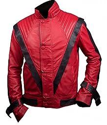 F&H Men\'s Michael Jackson Thriller Jacket S Red