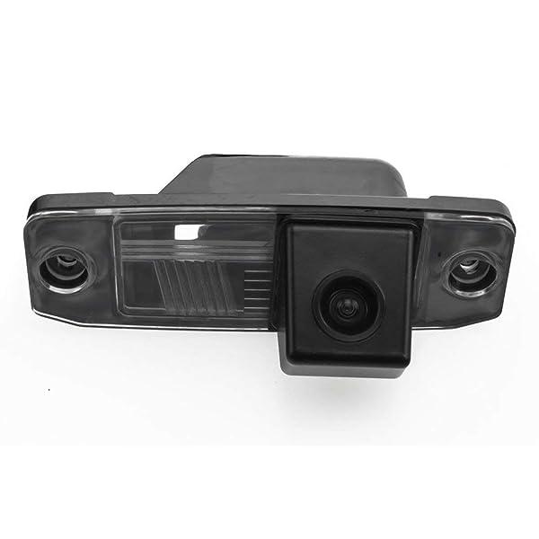 Backup Camera for Car, Waterproof Rear-View License Plate Rear Reverse Parking Camera for Hyundai Elantra Terracan Tucson Accent Backup Camera Kia Sportage R 2011