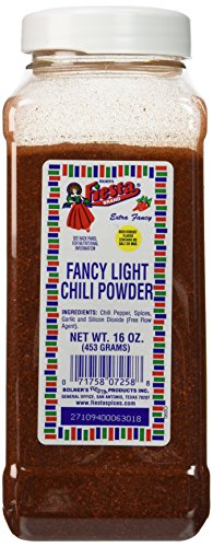 Bolner's Fiesta Fancy Light Chili Powder 16oz (Texas Chili Powder compare prices)