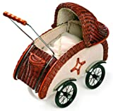 Small Foot 8756 - Puppenwagen, Korbgeflecht Retro