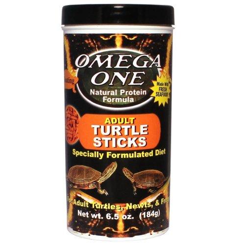 Omega One Adult Turtle Sticks 6.5 oz (Turtle Food Sticks compare prices)