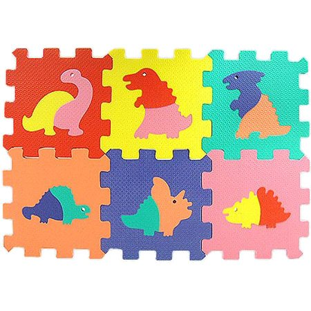 Cheap Wandix International Dinosaurs Baby Foam Mat Puzzle 6pc (B000J5C65S)