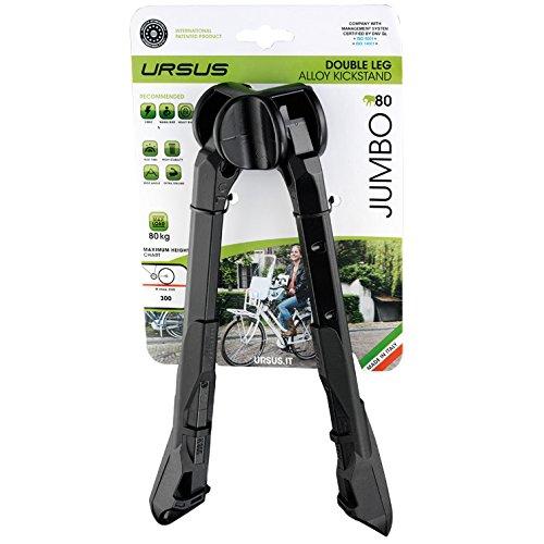 ursus-jumbo-zweibeinstander-26-schwarz-ausfuhrung-fur-28-zoll-2016-fahrradstander