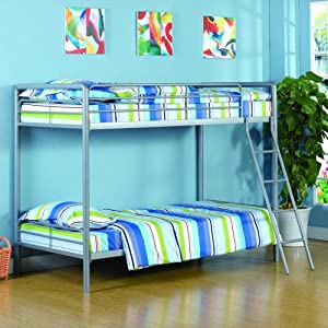 Dorel Home DHP Ambrose Twin over Twin Bunk Bed from Ameriwood Industries Inc