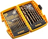 51peZGi8oOL. SL160  Cheap DEWALT DW1956 Pilot Point 16 Piece Twist Drill Bit Assortment