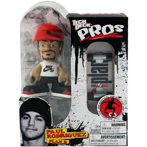 Tech Deck Pros Finger Board with Figure - Paul Rodriguez - 1
