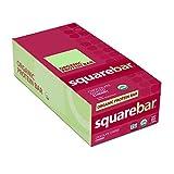 Squarebar Organic Chocolate Coated Protein Bar, Cherry, 20.3 Ounce