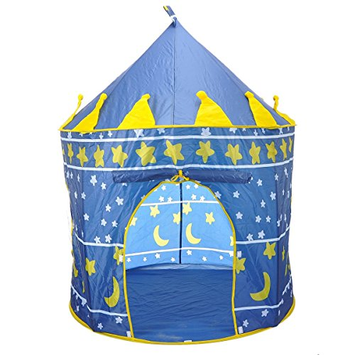 SySrion-Boys-Blue-Prince-Castle-Play-Tent-for-Kids-Indoor-Outdoor
