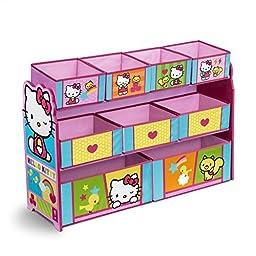 Delta Children Deluxe Multi Bin Organizer, Hello Kitty by Delta Children