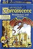 Schmidt Spiele 48145 - Carcassonne, Burgfr�ulein und Drache, 3. Erweiterung