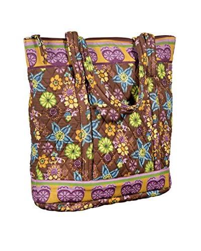 Home Essentials and Beyond Ellie Large Tote Bag, Brown