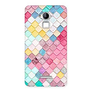 Radiant Patterns of Rock Back Case Cover for Coolpad Note 3