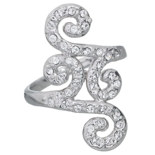 Annaleece Crystal Jewelry Filigree, Size 05 - Ring