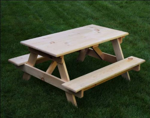 Select Pine Economy Kid's Picnic Table